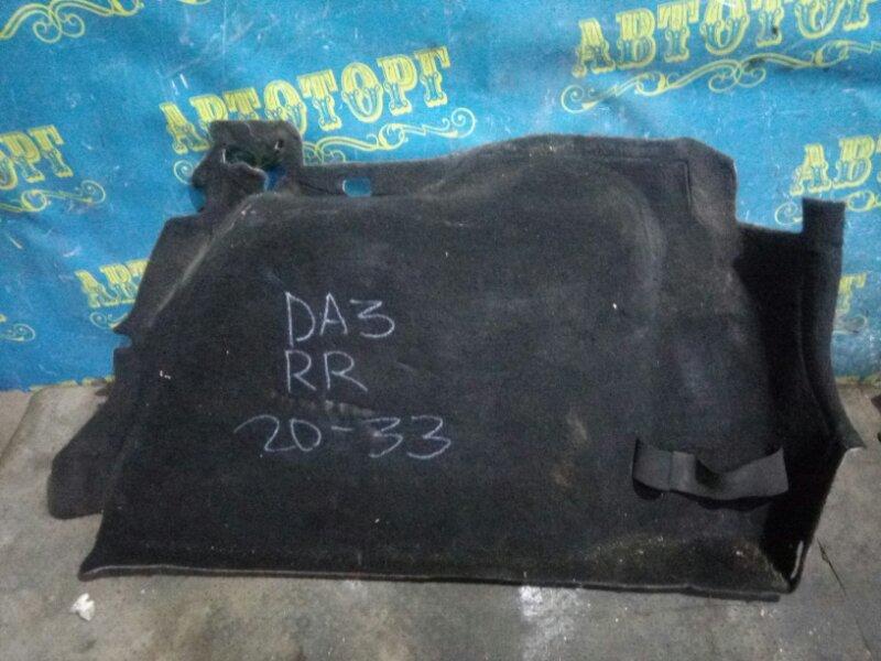 Обшивка багажника Ford Focus 2 CB4 DA3 HHDA 2007 задняя правая нижняя