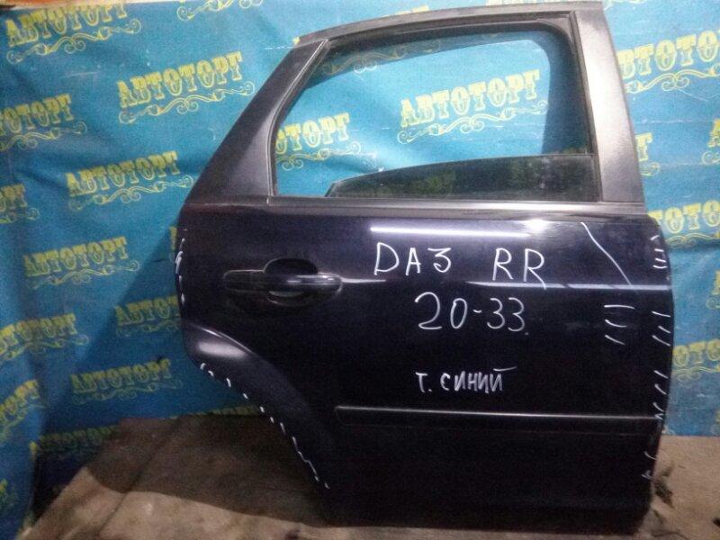 Дверь Ford Focus 2 CB4 DA3 HHDA 2007 задняя правая