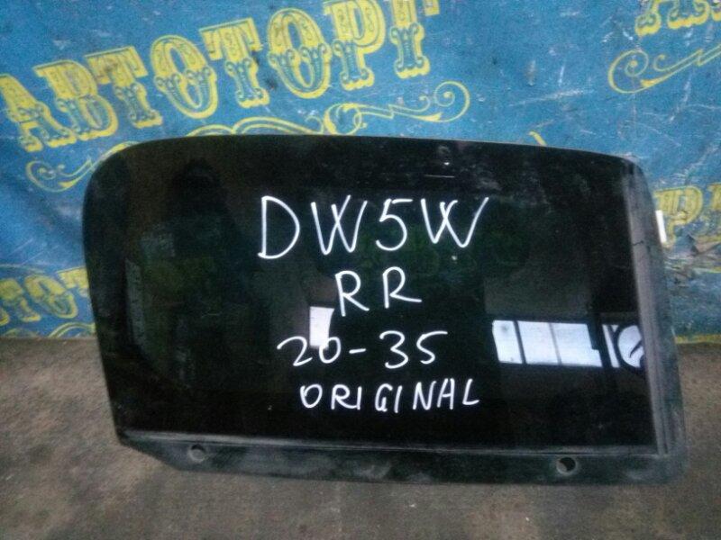Стекло багажника Mazda Demio DW5W B5 2000 заднее правое