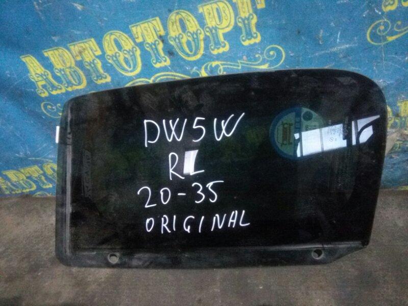 Стекло багажника Mazda Demio DW5W B5 2000 заднее левое