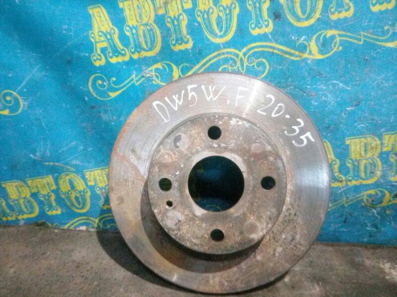 Тормозной диск Mazda Demio DW5W B5 2000 передний