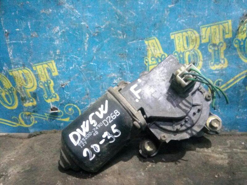 Мотор дворников Mazda Demio DW5W B5 2000 передний