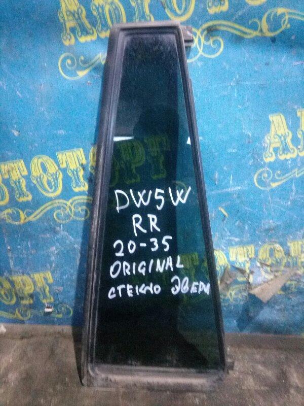 Форточка двери Mazda Demio DW5W B5 2000 задняя правая