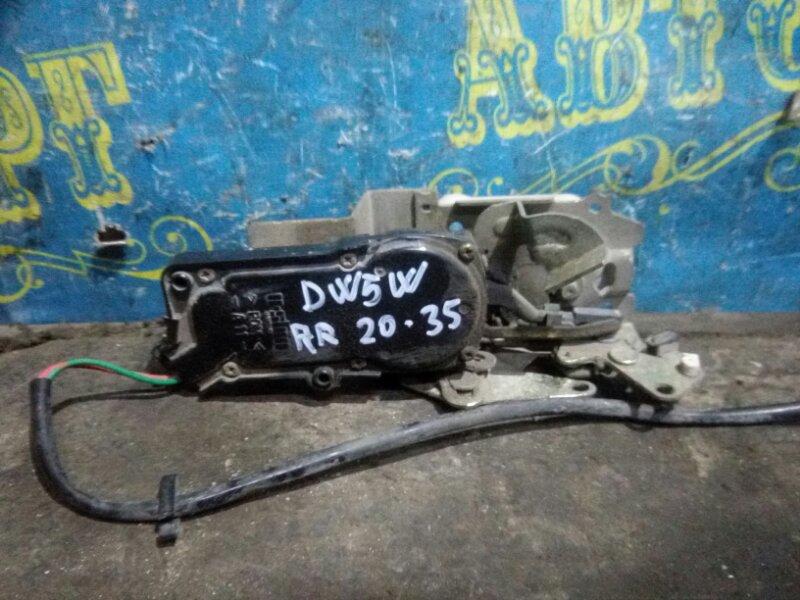 Замок двери Mazda Demio DW5W B5 2000 задний правый