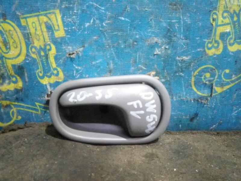 Ручка двери внутренняя Mazda Demio DW5W B5 2000 передняя левая