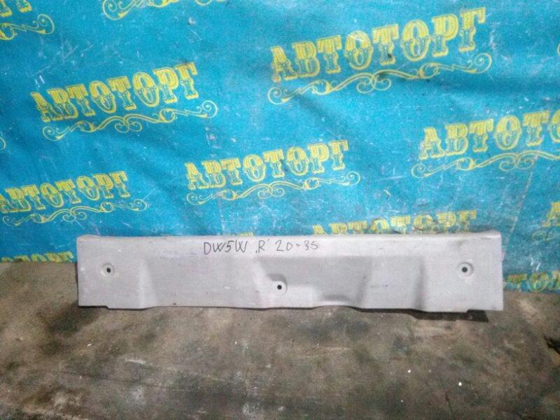 Накладка замка багажника Mazda Demio DW5W B5 2000
