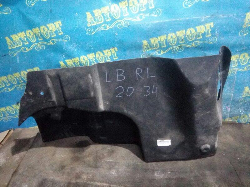 Обшивка багажника Renault Symbol LB K4J 2008 задняя левая