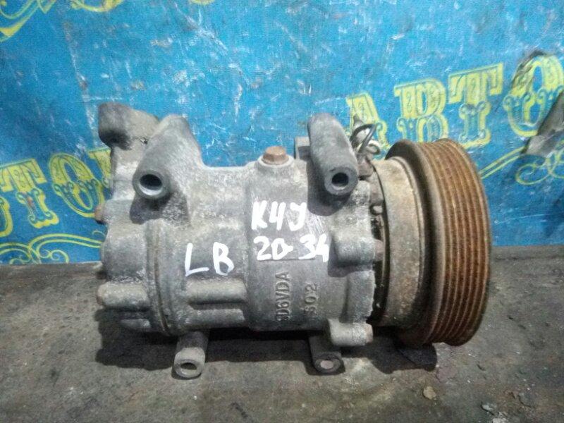 Компрессор кондиционера Renault Symbol LB K4J 2008