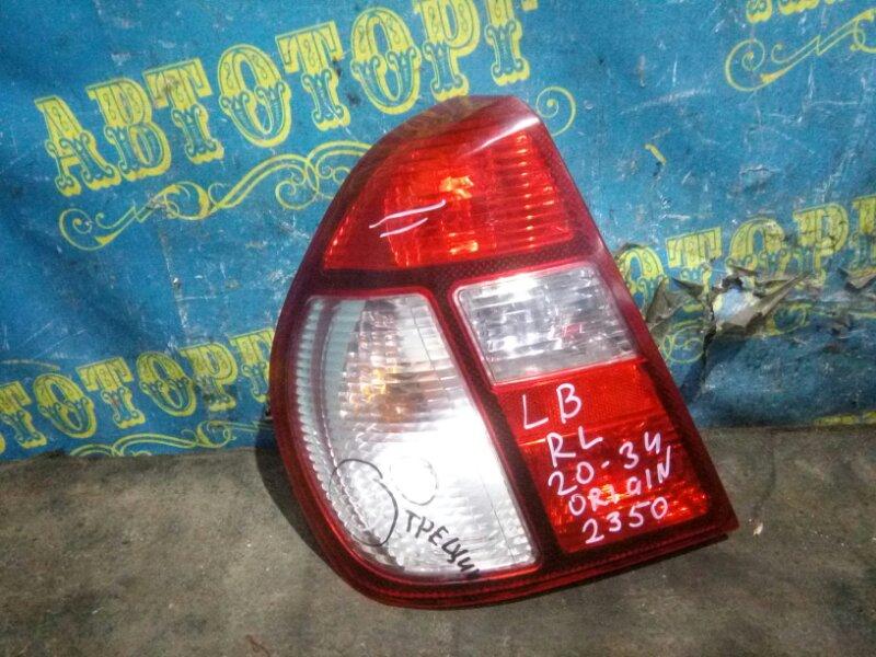 Стоп сигнал Renault Symbol LB K4J 2008 задний левый