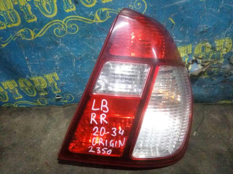 Стоп сигнал Renault Symbol LB K4J 2008 задний правый
