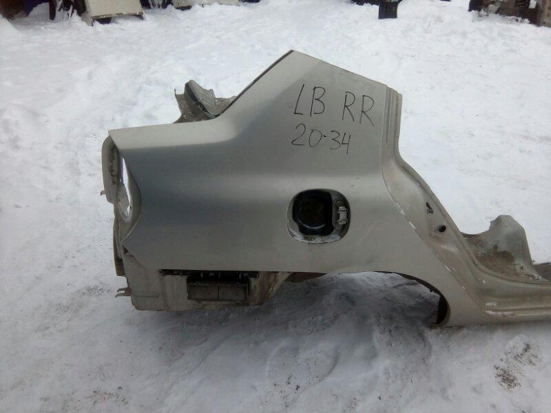 Крыло Renault Symbol LB K4J 2008 заднее правое