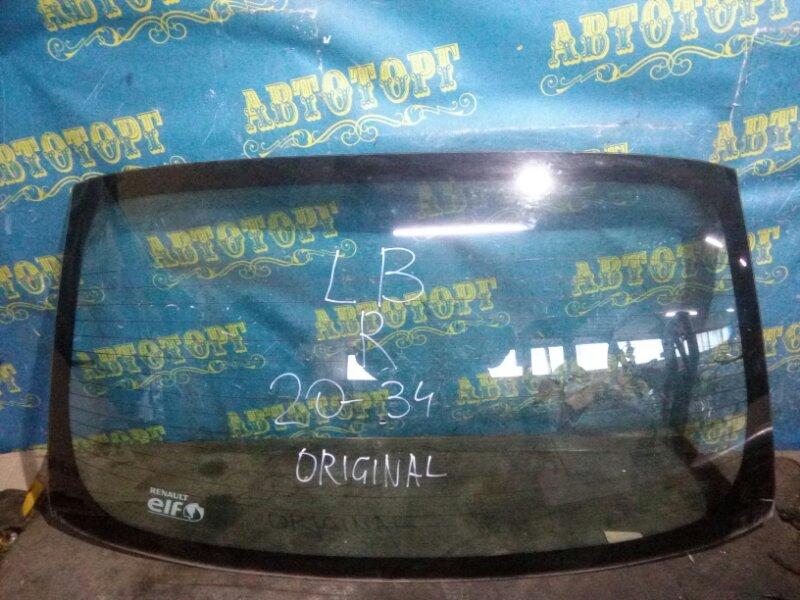 Стекло заднее Renault Symbol LB K4J 2008