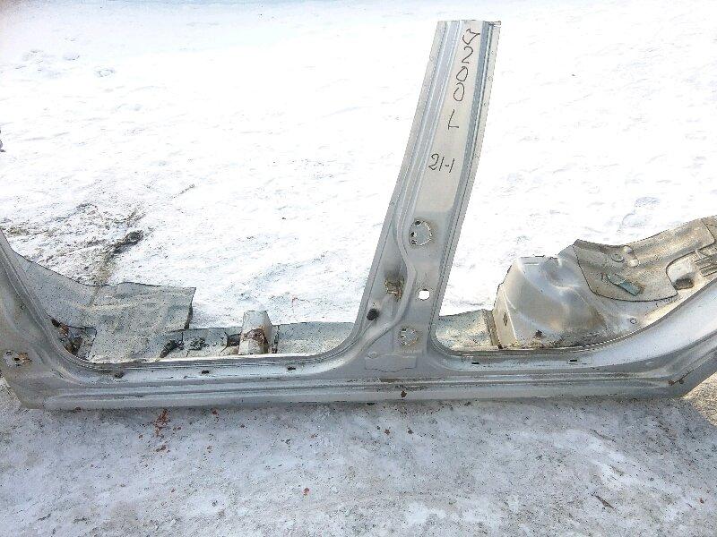 Порог Chevrolet Lacetti J200 F14D3 2007 левый