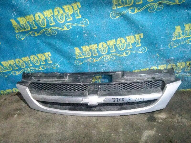 Решетка радиатора Chevrolet Lacetti J200 F14D3 2007
