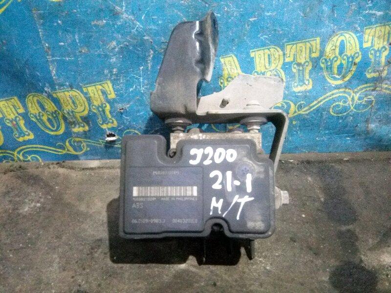 Блок abs Chevrolet Lacetti J200 F14D3 2007