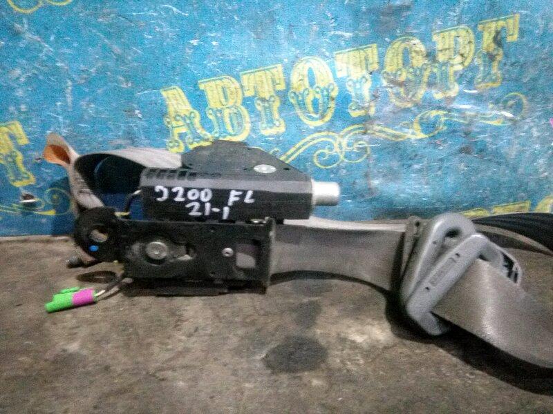 Ремень безопасности Chevrolet Lacetti J200 F14D3 2007 передний левый