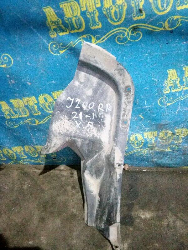 Подкрылок Chevrolet Lacetti J200 F14D3 2007 задний правый