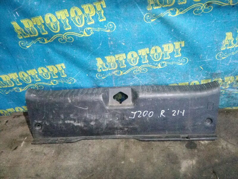 Накладка замка багажника Chevrolet Lacetti J200 F14D3 2007