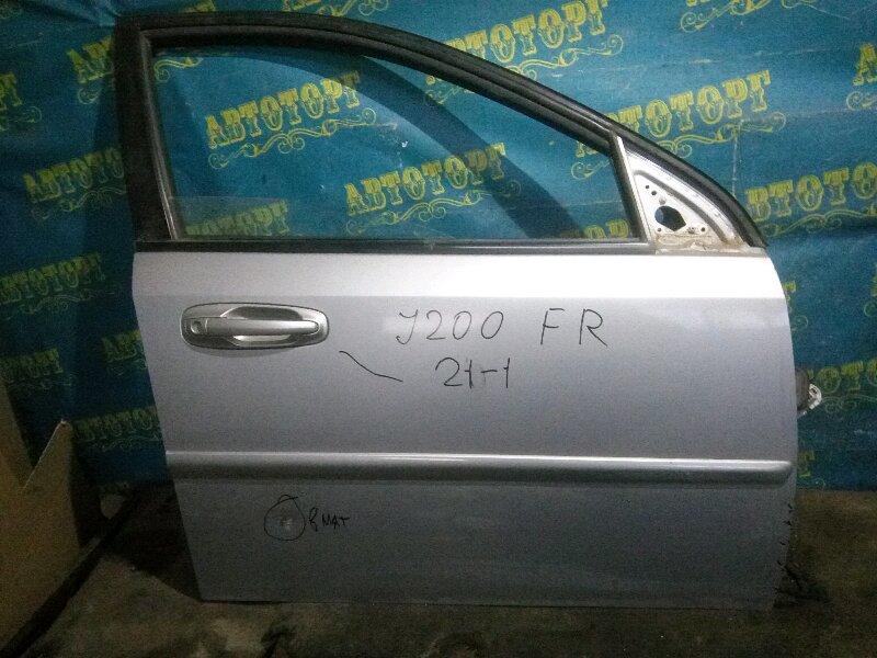 Дверь Chevrolet Lacetti J200 F14D3 2007 передняя правая