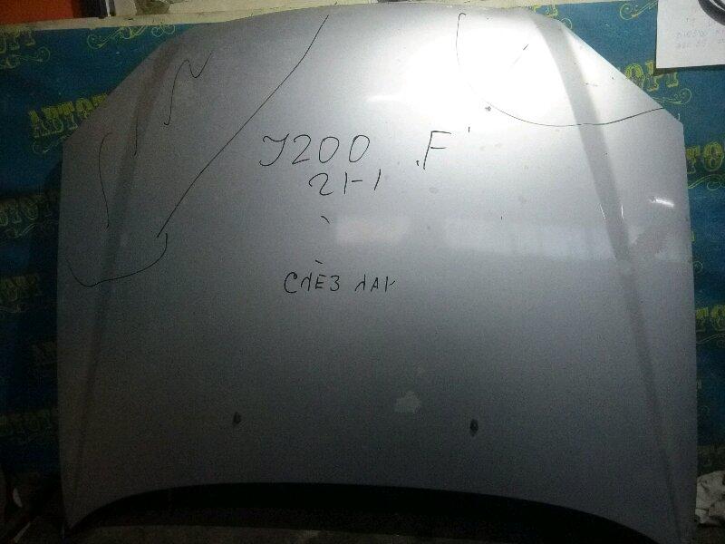Капот Chevrolet Lacetti J200 F14D3 2007