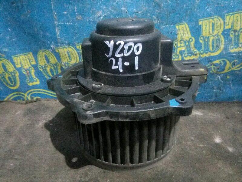 Мотор печки Chevrolet Lacetti J200 F14D3 2007 передний