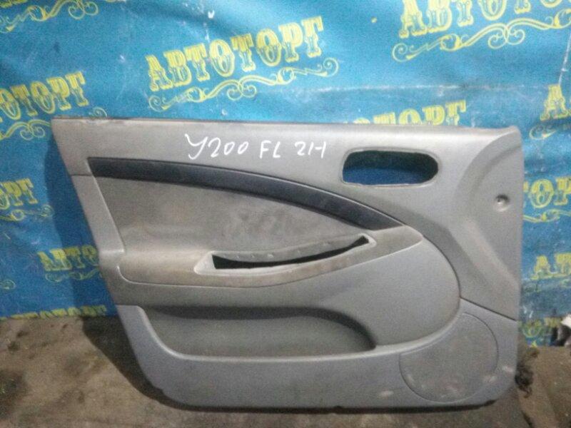 Обшивка дверей Chevrolet Lacetti J200 F14D3 2007 передняя левая