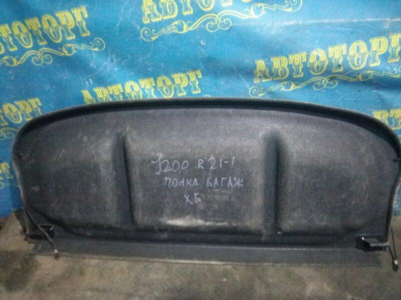 Полка багажника Chevrolet Lacetti J200 F14D3 2007