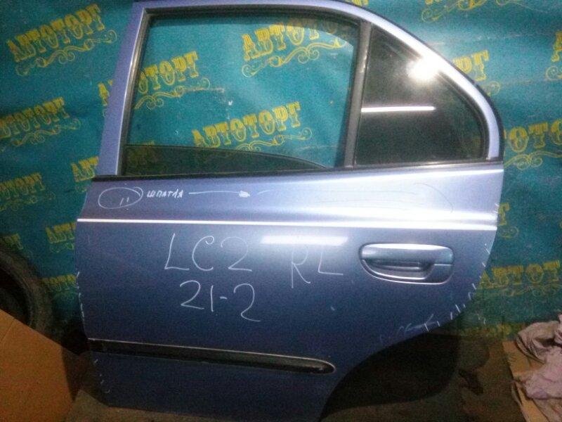 Дверь Hyundai Accent LC2 G4EC 2005 задняя левая
