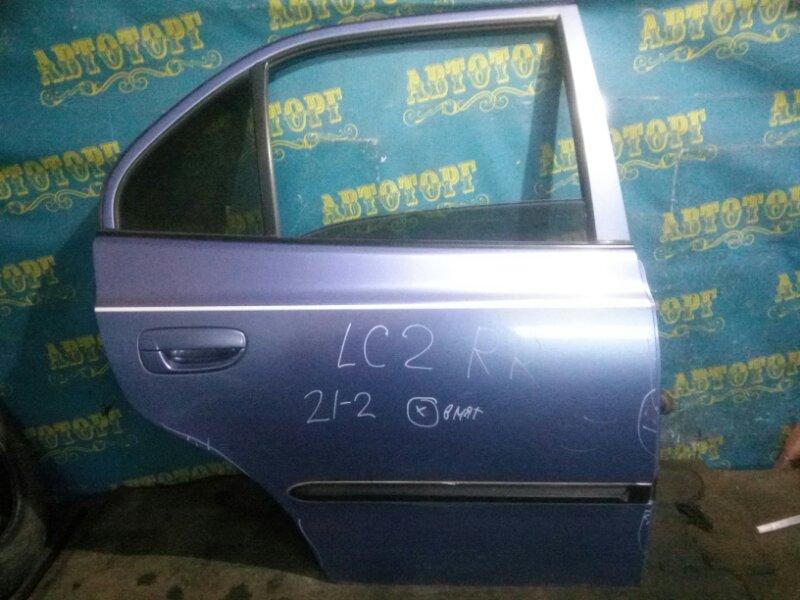 Дверь Hyundai Accent LC2 G4EC 2005 задняя правая