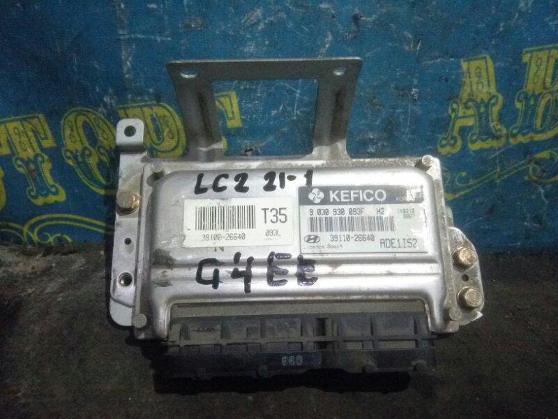 Блок управления двс Hyundai Accent LC2 G4EC 2005