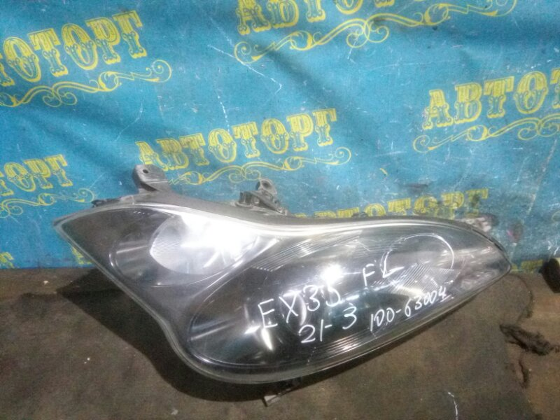 Фара Infiniti Ex35 J50 VQ35HR 2008