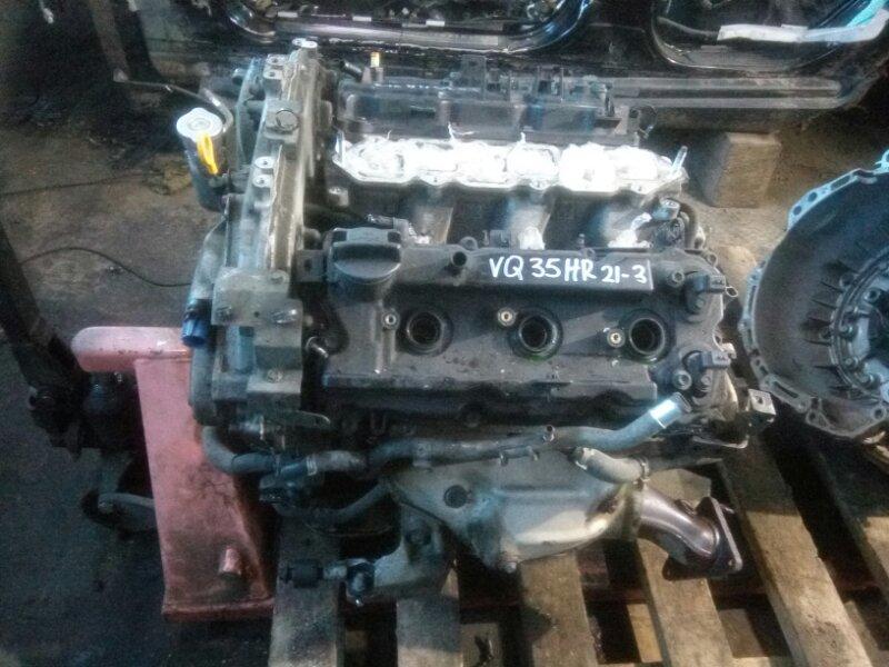 Двигатель Infiniti Ex35 J50 VQ35HR 2008