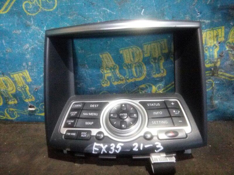 Блок управления навигацией Infiniti Ex35 J50 VQ35HR 2008