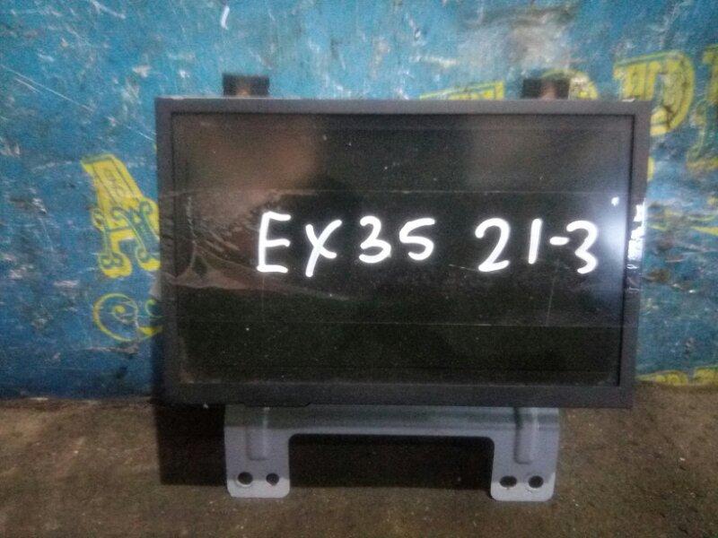 Монитор Infiniti Ex35 J50 VQ35HR 2008