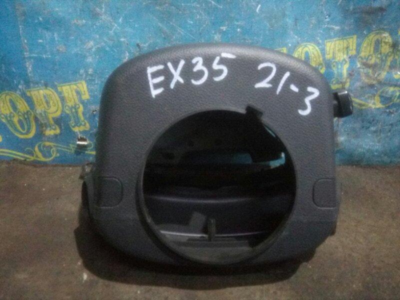 Кожух рулевой колонки Infiniti Ex35 J50 VQ35HR 2008