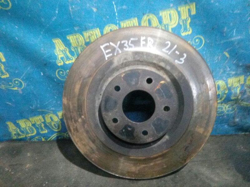 Тормозной диск Infiniti Ex35 J50 VQ35HR 2008 передний