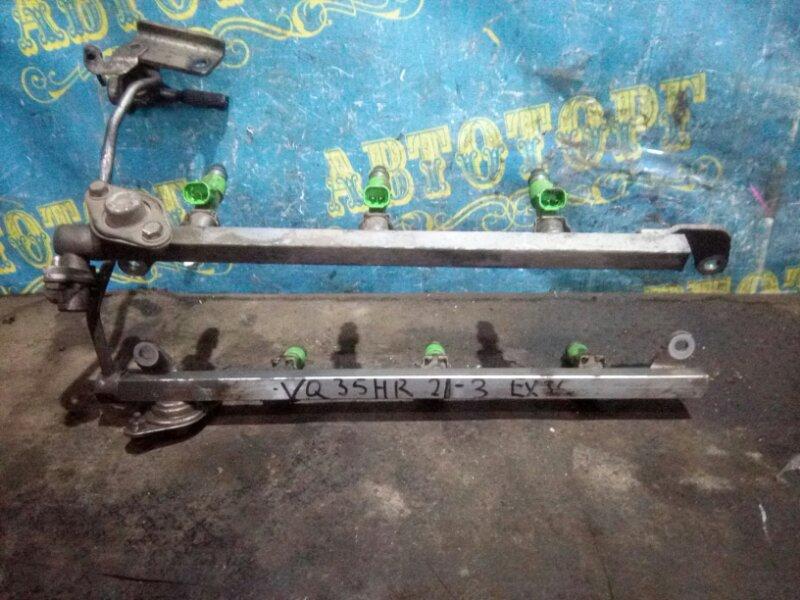 Топливная рейка Infiniti Ex35 J50 VQ35HR 2008
