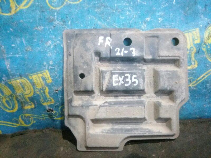 Защита двигателя Infiniti Ex35 J50 VQ35HR 2008 передняя правая