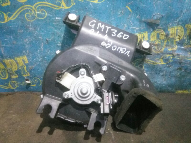 Мотор печки Chevrolet Trailblazer GMT360 LL8 2007 задний