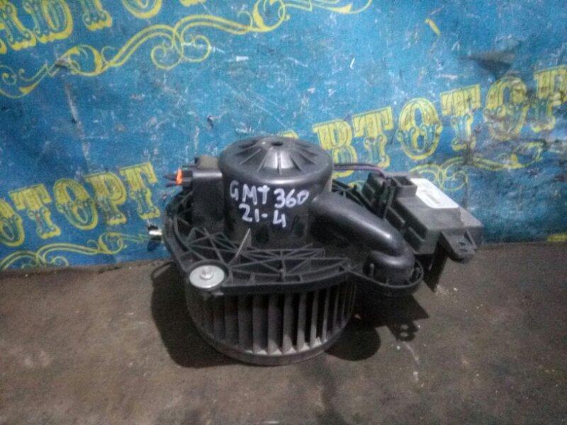 Мотор печки Chevrolet Trailblazer GMT360 LL8 2007 передний