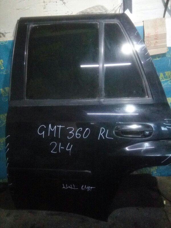 Дверь Chevrolet Trailblazer GMT360 LL8 2007 задняя левая