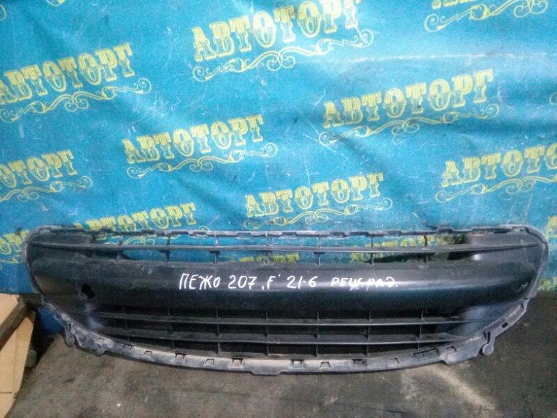 Решетка радиатора Peugeot 207 WC EP6 2008