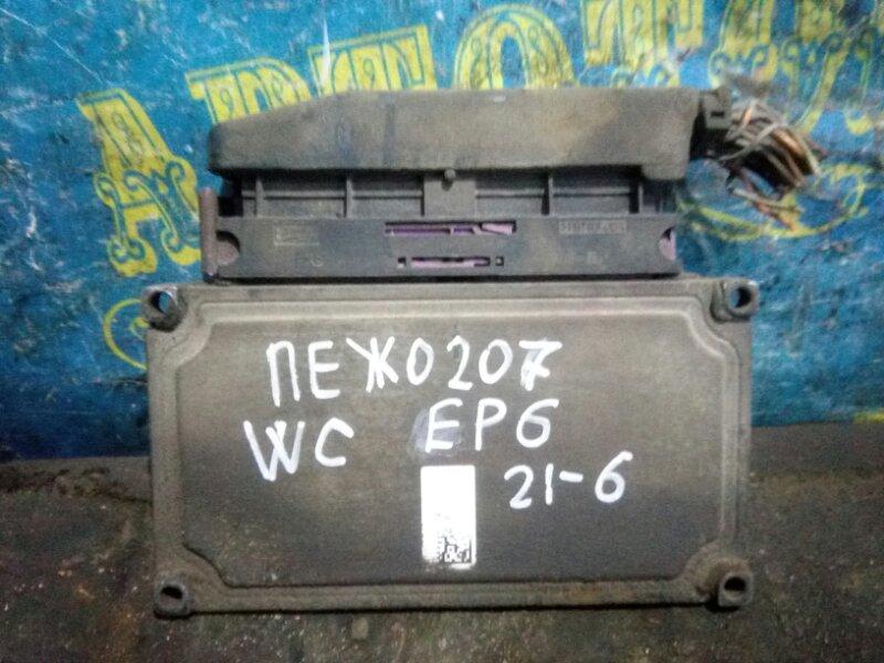 Блок управления акпп Peugeot 207 WC EP6 2008