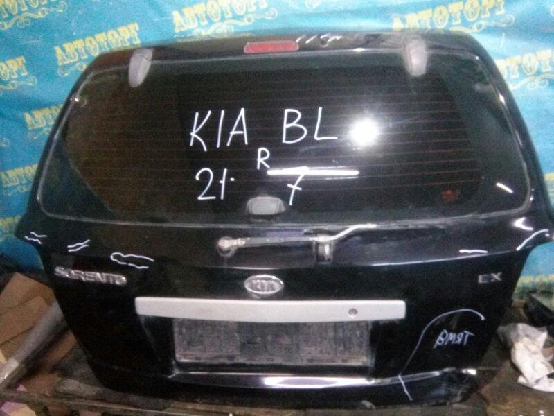 Дверь 5-я Kia Sorento BL D4CB 2003