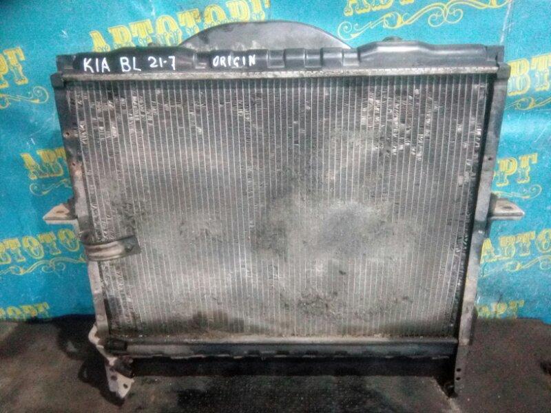 Радиатор основной Kia Sorento BL D4CB 2003