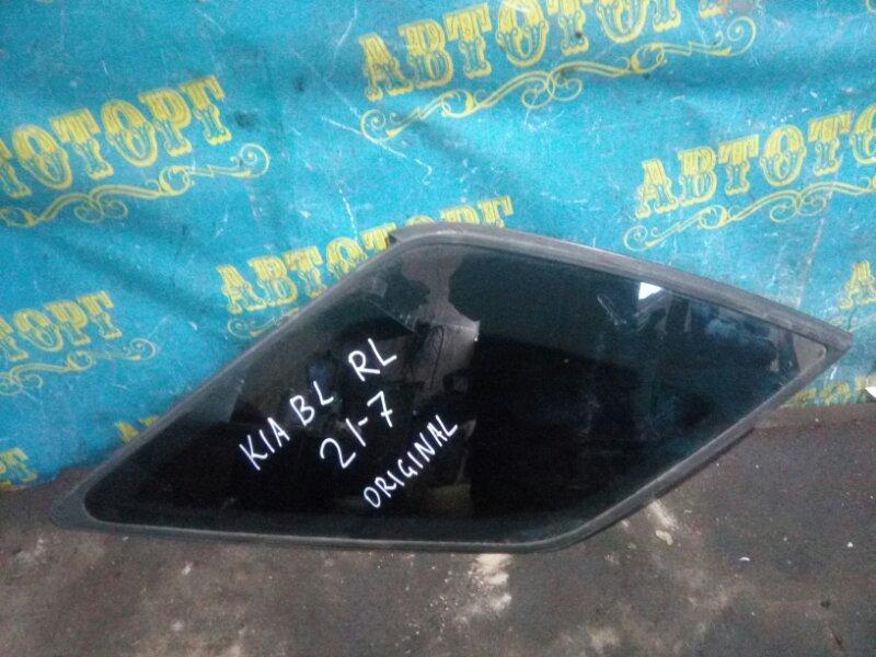 Стекло багажника Kia Sorento BL D4CB 2003 заднее левое