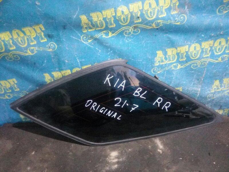Стекло багажника Kia Sorento BL D4CB 2003 заднее правое