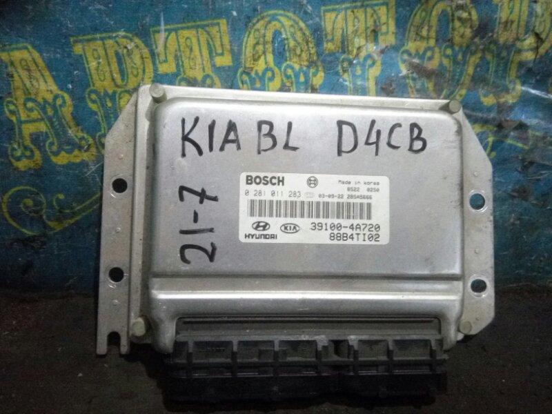 Блок управления двс Kia Sorento BL D4CB 2003