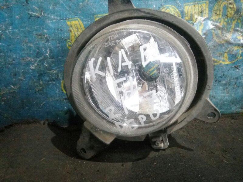 Туманка Kia Sorento BL D4CB 2003 передняя левая