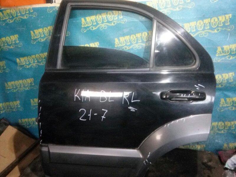 Дверь Kia Sorento BL D4CB 2003 задняя левая